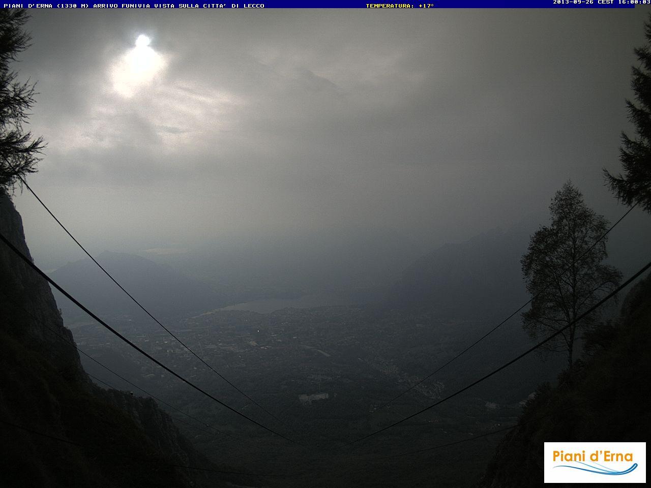 Webcam Monte Resegone 1330 - Bergamo