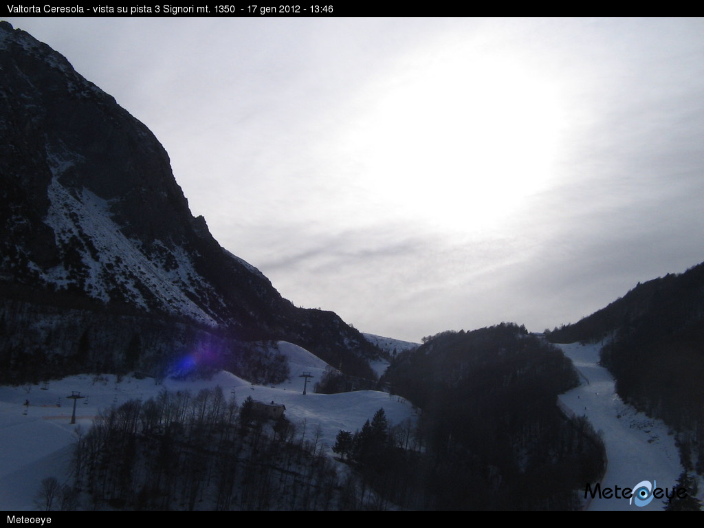 Webcam Valtorta Ceresola (1300 m)